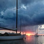 West Falmouth Harbor Sunset